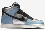 Dunk High Metallic Silver