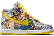 Women Dunk High Scribble