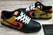 Women Dunk Low Pro SB Raygun Away Orange Flash Black Black