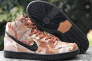 Women Nike SB Dunk High Appears In A Brown Desert Camo