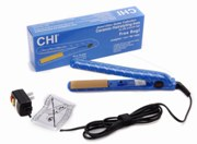 CHI Guitar Collection Blue Ceramic Flat Iron