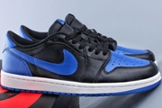 Jordan 1 Low Blue Black