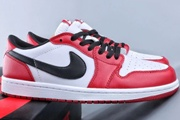 Jordan 1 Low White Red