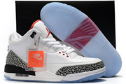Jordan 3 Free Throw Line - Dunk Contest - Clear Sole - White Cement