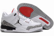 Jordan 3 White/Fire Red/Cement Grey