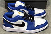 Women Jordan 1 Low Hyper Royal