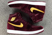 Women Jordan 1 Night Maroon