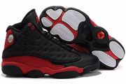 Women Jordan 13 Mesh Black/Red