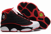 Women Jordan 13 Mesh Black/White/Red