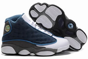 Women Jordan 13 Navy Blue/Grey