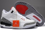 Women Jordan 3 GS/White/Cement