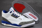 Women Jordan 3 White/True Blue